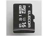 16GB・UHS Speed Class1(Class10)対応microSDHCカード(SDHC変換アダプタ付) MF-BMSD-016