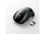 無線レーザーマウス [2.4GHz・USB・Win/Mac] M-LS15DLシリーズ (5ボタン・ブラック) M-LS15DLBK