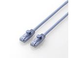 カテゴリー6対応 LANケーブル ツメ折れ防止  (ブルー・5m) LD-C6T/BU50