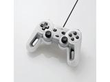 【在庫限り】 超高性能有線ゲームパッド [USB・1.8m・Win] ホワイト JC-U4013SWH