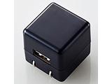 オーディオ用AC充電器/for Walkman/CUBE/1A出力/USB1ポート(ブラック) AVS-ACUAN007BK