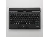 【スマホ/タブレット対応】トラックボール搭載 ワイヤレスキーボード[Bluetooth4.1・Android/iOS/Mac/Win](日本語87キー・パンタグラフ・ブラック) TK-DCP03BK