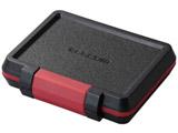 SD/microSDカードケース(耐衝撃)(ブラック)CMC-SDCHD01BK
