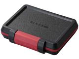 SD/microSD/XQDカードケース(耐衝撃)(ブラック)CMC-SDCHD02BK