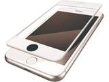 iPhone8 (4.7) フィルム フルカバー 衝撃吸収 防指紋 光沢 PMCA17MFLPGRWH