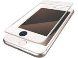 iPhone8 (4.7) フィルム フルカバー 衝撃吸収 防指紋 反射防止 PMCA17MFLPRWH