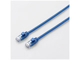 CAT6A LANケーブル やわらか(15m・ブルー) LD-GPAYC/BU15