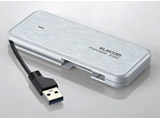 ESD-EC0240GWH(ホワイト) 外付けポータブルSSD [USB 3.1・2.0/240GB] ケーブル収納対応