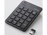 TK-TDP019BK 2.4GHz無線テンキーボード [USB/薄型/パンタグラフ/ブラック]
