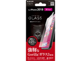 iPhone XR用 6.1 ガラスフィルム PM-A18CFLGGGO