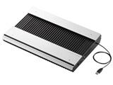 ノートPC用クーラー [USB接続] 高耐久性・極冷タイプ(15.4〜17型対応・ブラック) SX-CL23LBK
