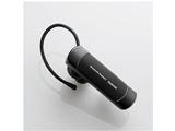スマートフォン対応[Bluetooth4.0] 片耳ヘッドセット USB充電ケーブル付 (ブラック) LBT-HS20MPCBK