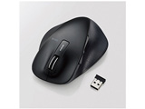 M-XGL10DBBK ワイヤレスマウス(BlueLED/2.4GHz/USB/5ボタン/ブラック/PS5対応) [無線マウス・ブルーLED方式]