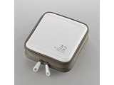 CCD-HB32WH Blu-ray・CD・DVD対応ファスナーケース(32枚/ホワイト)