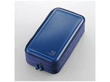 112枚収納 Blu-ray・CD・DVD対応 ファスナーケース (ブルー) CCD-HB112BU