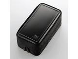 CCD-HB160BK Blu-ray・CD・DVD対応ファスナーケース(160枚/ブラック)