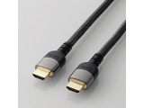 5.0m 4K60p/18Gbps伝送対応HDMIケーブル (HDMI⇔HDMI)DH-HDP14E50BK