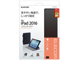 9.7インチiPad Pro用 ソフトレザーケース 4段階調節 ブラック TB-A16PLF2BK