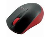 ワイヤレスマウス[IR LED・Bluetooth 3.0] 省電力タイプ (3ボタン・レッド) M-BT12BRRD [Bluetoothマウス]