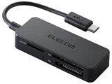 メモリリーダライタ スマホ・タブレット用microBケーブル SD+microSD+MS対応 ブラック MRS-MB05BK