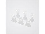 iPhone 5用 イヤホン&Lightningコネクタキャップセット (クリア) P-ACAST2CR