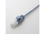 LD-GPST/BU05 カテゴリ6対応 ツメ折れ防止スリムLANケーブル (0.5m/ブルー)