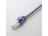 LD-CTXT/BU30 カテゴリ5E対応 ツメ折れ防止クロスケーブル (3.0m/ブルー)