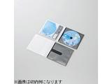 CD/DVD用スリム収納ソフトケース (1枚収納×30セット・ブラック) CCD-DPC30BK