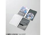 DVD用スリム収納ソフトケース トールケースサイズ (1枚収納×10セット・ブラック) CCD-DPD10BK