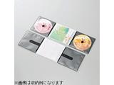 CD/DVD用スリム収納ソフトケース (2枚収納×10セット・ブラック) CCD-DP2C10BK
