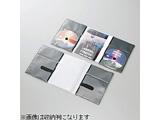 DVD用スリム収納ソフトケース トールケースサイズ (2枚収納×10セット・ブラック) CCD-DP2D10BK