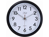 掛時計 アルコル Φ30cm BK 27220