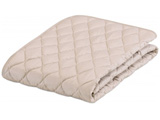 【在庫限り】 【ベッドパッド/ボックスシーツ】グッドスリーププラス 羊毛3点パック(キングサイズ/195×195cm/キナリ)