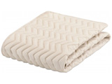 【ベッドパッド】グッドスリーププラス バイオパッド(クィーンロングサイズ/170×205cm/キナリ)