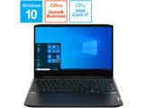 81Y4004YWR ゲーミングノートパソコン IdeaPad Gaming 350i オニキスブラック [15.6型 /intel Core i7 /HDD:1TB /SSD:256GB /メモリ:16GB /2020年6月モデル]