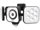 LEDセンサーライト防犯カメラ8W×2灯 CAC8160