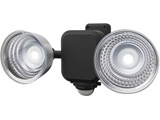3W×2灯フリーアーム式LED乾電池センサーライト CBA140