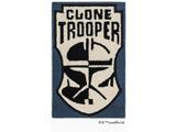 【在庫限り】 スター・ウォーズ 玄関マット CRONE TROOPER(50×80cm/ブルー)【日本製】