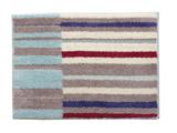 バスマット グリース 銀イオン(35×50cm/ブルー) 3447409