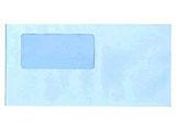 窓付き封筒(アクア)(200枚) 333101