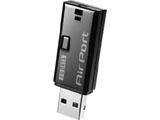 【在庫限り】 WN-G300UK(無線LANアダプター/IEEE802.11n/g/b対応/ブラック)
