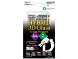 ZenFone 3 Laser(ZC551KL)用 HYBRID Glass Screen Protector 3D ドラゴントレイルXホワイト【ビックカメラグループオリジナル】
