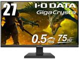高リフレッシュレート&高速応答 27型ワイドゲーミング液晶ディスプレイ LCD-GC271XB