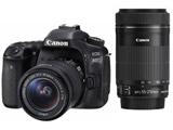 EOS 80D ダブルズームキット [キヤノンEFマウント(APS-C)] デジタル一眼レフカメラ