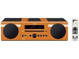 Bluetooth対応 ミニコンポ(オレンジ) MCR-B043 D【ワイドFM対応】