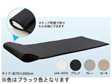 ファインエアー ポータブル70(70×200×2cm/ブラック)