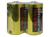 LR20/1.5V2S 単一形アルカリ乾電池 2本パック