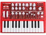 【数量限定】 アナログ・シンセサイザー(スケルトン・レッド) MicroBrute RED