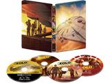 【10/17発売予定】 ハン・ソロ/スター・ウォーズ・ストーリーMovieNEX スチールブック4KUHD+3D+BD