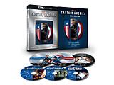 キャプテン・アメリカ:4K UHD 3ムービー・コレクション(数量限定) BD